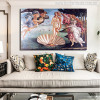 The Birth of Venus Painting Print for Living Room Wall Art Decor