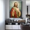 Jesus Christ Painting Print for Study Room Decoration