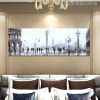 Richard Macneil Painting St Marco Reflection Print for Bedroom Wall Decor