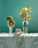 Glass Flowerpots Botanical Modern Framed Artwork Pic Canvas Print
