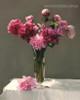 Glass Flowerpots Botanical Modern Framed Artwork Photo Canvas Print