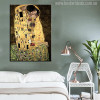 A Kiss Modern Painting Print for Living Room Decor