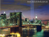 The New York City in Night Art Picture Print