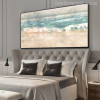 Abstract Beach Surf Landscape Print for Wall Art