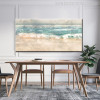 Abstract Beach Surf Landscape Print for Dining Room Decor