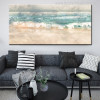 Abstract Beach Surf Landscape Print for Living Room Decor