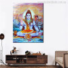 Indian God Shiva Wall Art Painting Print for Wall Hangings