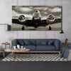 Classic Vintage Airplane Wall Art Picture Print for Home Decor