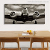 Classic Vintage Airplane Wall Art Picture Print for Dining Room Wall Art
