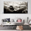 Classic Vintage Aircraft Wall Art Picture Print for Wall Decor