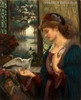 Love's Messenger Painting by Marie Spartali Stillman Print