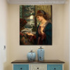 Love's Messenger Painting by Marie Spartali Stillman Print for Living Room Decor