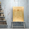 The Vitruvian Man is a Drawing Print for Study Room decor