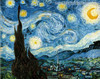 The Starry Night Painting Canvas Print