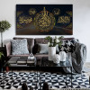 Muslim Islamic Calligraphy Canvas Print for Wall Art