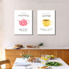 Good Morning But First Coffee Wall Artwork Print