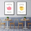 Good Morning But First Coffee Wall Decor Print