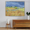 Blooming Poppies Van Gogh Reproduction Framed Painting Portrait Canvas Print for Room Wall Tracery