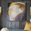 Portrait of Danae Gustav Klimt Framed Artwork Photo Canvas Print for Room Wall Garnish