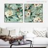 Hummingbirds Painting Print for Living Room Wall Art