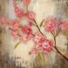 Sakura Flowers Painting Print