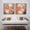 Sakura Flowers Painting Print for Bedroom Wall Decor