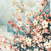 Dogwood Flowers Traditional Painting Print
