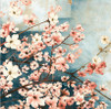 Dogwood Flowers Traditional Painting Canvas Print
