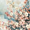 Cornus Florida Flowers Traditional Painting Print