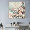 Cornus Florida Flowers Painting Canvas Print