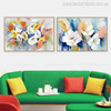 Real Poppy Flowers Painting Print for Living Room Decor