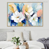 Watercolor Poppies Painting Canvas Print