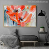 Red Poppy Watercolor Painting Print for Wall Decor