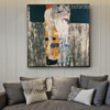 Ages of Woman Figure Reproduction Framed Painting Picture Canvas Print for Room Wall Flourish