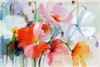 Flashy Poppies Flower Painting Print