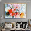 Flashy Poppies Flower Painting Canvas Print