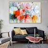 Flashy Poppies Flower Painting Print for Dining Room Wall Decor
