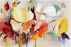 Gaudy Poppies Flower Painting Print