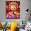 Nasir Al Mulk Mosque Muslim Pilgrims Picture Print