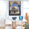 Dome of the Rock Mosque Picture for Wall Decor