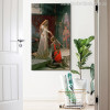 The Accolade Painting Canvas Print