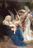 The Virgin with Angels Painting for Home Wall Decor