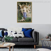 The Song of The Angels Painting Print for Living Room Decor