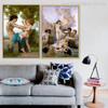 Virgin Angels Canvas Print