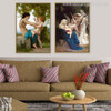Angels Painting Print for Home Wall Decor