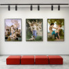Nude Angels Painting Print for Hallway Decor