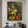 The Fruit Bowl Floral Reproduction Framed Painting Photo Canvas Print for Room Wall Decoration