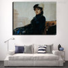 The Unknown Woman Painting Canvas Print