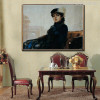 The Unknown Woman Painting Print for Wall Decor