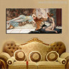 Mischief and Repose Painting Print for Room Decor